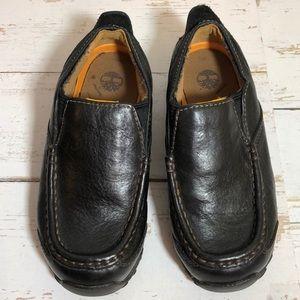 Timberland Slip-on Black Leather Loafer